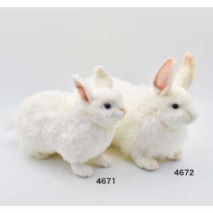 ユキウサギ うさぎ 35 動物 ぬいぐるみ HANSA ハンサ 夏休み 帰省 プレゼント お土産|dearbear|09