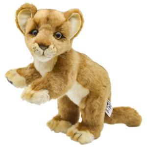 HANSA ハンサ ライオン 子 4995 リアル 動物 ぬいぐるみ クリスマス プレゼント|dearbear