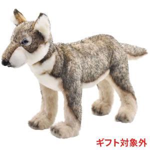 オオカミ 子 52 リアル 動物 ぬいぐるみ HANSA ハンサ ギフト対象外|dearbear