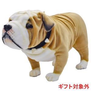 HANSA ハンサ ブリティッシュブルドッグ 犬 5626 ギフト対象外 リアル 動物 ぬいぐるみ プレゼント ギフト 母の日 父の日|dearbear