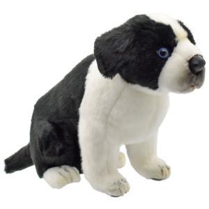 HANSA ハンサ ボーダーコリー 子 犬 5664 リアル 動物 ぬいぐるみ プレゼント ギフト 母の日 父の日|dearbear