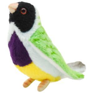 HANSA ハンサ クロコキンチョウ 鳥 5694 リアル 動物 ぬいぐるみ プレゼント ギフト 母の日 父の日|dearbear