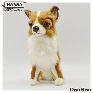 チワワ 犬 31 リアル 動物 ぬいぐるみ HANSA ハンサ プレゼント|dearbear