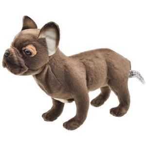 HANSA ハンサ フレンチブルドッグ 犬 6594 リアル 動物 ぬいぐるみ クリスマス プレゼント|dearbear