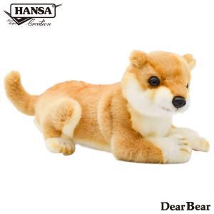 HANSA ハンサ シバケン 犬 7017 リアル 動物 ぬいぐるみ プレゼント ギフト 母の日 父の日|dearbear