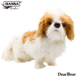 シーズー 犬 30 リアル 動物 ぬいぐるみ HANSA ハンサ プレゼント|dearbear