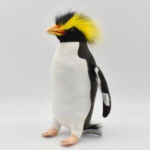 HANSA ハンサ イワトビペンギン 7097 リアル 動物 ぬいぐるみ クリスマス プレゼント|dearbear