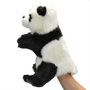 ジャイアントパンダ 30 ハンドパペット HANSA ハンサ 雑貨 母の日 プレゼント お土産|dearbear|02
