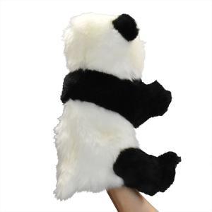 ジャイアントパンダ 30 ハンドパペット HANSA ハンサ 雑貨 母の日 プレゼント お土産|dearbear|03