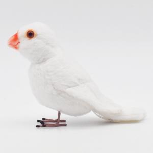 シロブンチョウ 鳥 13 動物 ぬいぐるみ HANSA ハンサ 夏休み 帰省 プレゼント お土産|dearbear|02