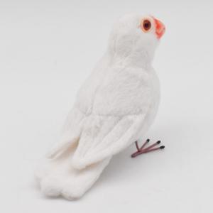 シロブンチョウ 鳥 13 動物 ぬいぐるみ HANSA ハンサ 夏休み 帰省 プレゼント お土産|dearbear|03