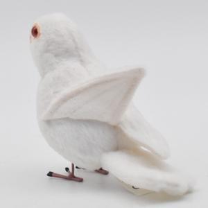 シロブンチョウ 鳥 13 動物 ぬいぐるみ HANSA ハンサ 夏休み 帰省 プレゼント お土産|dearbear|08