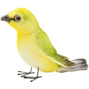 HANSA ハンサ メジロ 鳥 7246 リアル 動物 ぬいぐるみ プレゼント ギフト 母の日 父の日|dearbear