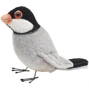 HANSA ハンサ ブンチョウ 鳥 7248 リアル 動物 ぬいぐるみ プレゼント ギフト 母の日 父の日|dearbear