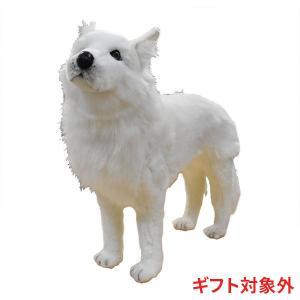 ホッキョクオオカミ 64 ぬいぐるみ HANSA ハンサ バレンタイン ホワイトデー プレゼント|dearbear