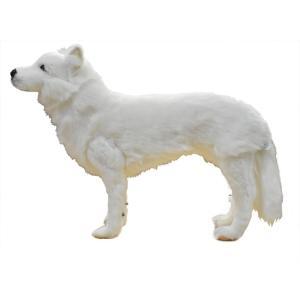 ホッキョクオオカミ 64 ぬいぐるみ HANSA ハンサ バレンタイン ホワイトデー プレゼント|dearbear|02
