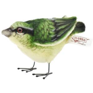HANSA ハンサ ウグイス 鳥 7476 リアル 動物 ぬいぐるみ プレゼント ギフト 母の日 父の日|dearbear