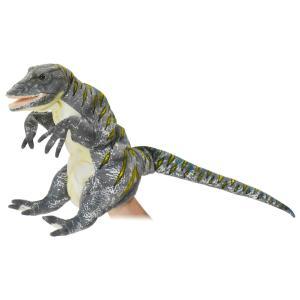 ハンドパペット ギガノトサウルス 54 動物 HANSA ハンサ 雑貨 夏休み 帰省 プレゼント お土産|dearbear