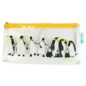 Animal Friends アニマルフレンズ ビニールペンポーチ ペンギン|dearbear