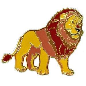 アニマルフレンズ ピンズ ライオン 動物 雑貨 プレゼント|dearbear