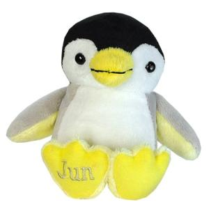 アニマルフレンズ バースデーペンギン 6月 パール 誕生日 ぬいぐるみ プレゼント ギフト 母の日 父の日 dearbear