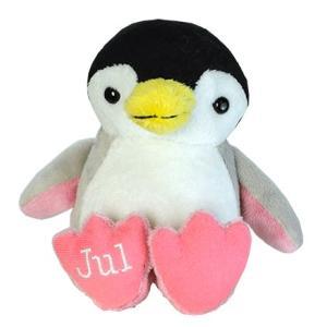 アニマルフレンズ バースデーペンギン 7月 ルビー 誕生日 ぬいぐるみ プレゼント ギフト 母の日 父の日 dearbear