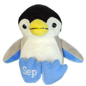 アニマルフレンズ バースデーペンギン 9月 サファイア 誕生日 ぬいぐるみ プレゼント ギフト 母の日 父の日 dearbear