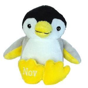 アニマルフレンズ バースデーペンギン 11月 トパーズ 誕生日 ぬいぐるみ プレゼント ギフト 母の日 父の日 dearbear