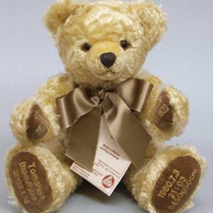 ハーマンセレブレーションベア ゴールド ぬいぐるみ 母の日 記念 お祝い 新生活 プレゼント|dearbear