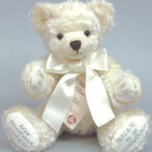ハーマンセレブレーションベア ホワイト ぬいぐるみ 母の日 記念 お祝い 新生活 プレゼント|dearbear
