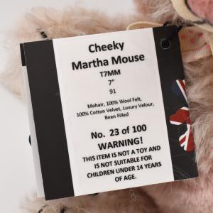 メリーソート チーキー マーサマウス No23 of 100 限定 テディベア ぬいぐるみ プレゼント|dearbear|06