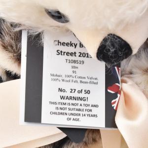 メリーソート チーキーボンドストリート2019 ブラウン No27 of 50 限定 テディベア ぬいぐるみ プレゼント|dearbear|11