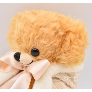 メリーソート クリスマスチーキー 2019 クリーム No24 of 50 限定 テディベア ぬいぐるみ プレゼント|dearbear|08