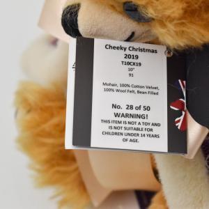 メリーソート クリスマスチーキー 2019 レッド No28 of 50 限定 テディベア ぬいぐるみ プレゼント|dearbear|11