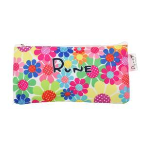 RUNE ペンポーチ サンフラワー カラフル 雑貨 母の日 プレゼント お土産|dearbear