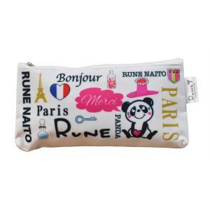 RUNE ペンポーチ ロゴ 雑貨 母の日 プレゼント お土産|dearbear