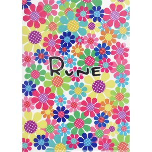 RUNE ルネ クリアファイル A4 サンフラワー カラフル 雑貨 お土産 プレゼント ギフト 母の日 父の日|dearbear