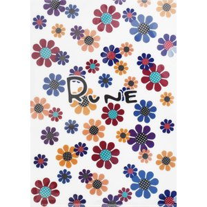 RUNE ルネ クリアファイル A4 サンフラワー 雑貨 お土産 プレゼント ギフト 母の日 父の日|dearbear