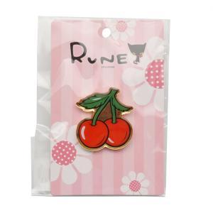 RUNE ルネ ピンズ チェリー 雑貨 母の日 プレゼント お土産|dearbear