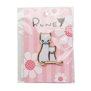 RUNE ルネ ピンズ ネコ 雑貨 母の日 プレゼント お土産|dearbear