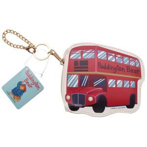 パディントン ダイカットポーチ ロンドンバス 雑貨 プレゼント ギフト 母の日 父の日|dearbear