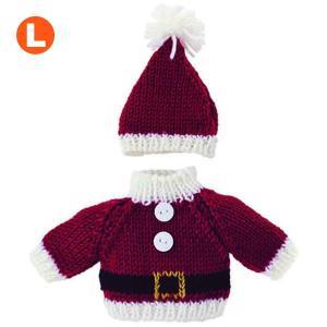 Bear Wear ベアウェア XMaSセーター&キャップ サンタウェア L dearbear