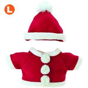 べアウェア XMaSウェアセット サンタ L ぬいぐるみ ぬい 服 洋服 着せ替え プレゼント|dearbear