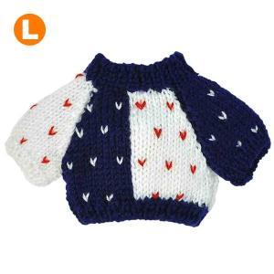 べアウェア セーター ネイビー L ぬいぐるみ ぬい 服 洋服 着せ替え プレゼント|dearbear