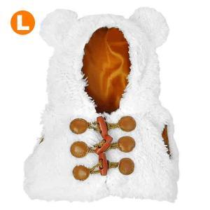 Bear Wear ベアウェア ボアベスト ホワイト L|dearbear