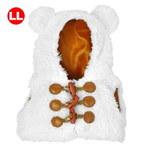 Bear Wear ベアウェア ボアベスト ホワイト LL|dearbear