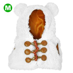 Bear Wear ベアウェア ボアベスト ホワイト M dearbear