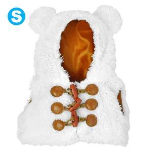 Bear Wear ベアウェア ボアベスト ホワイト S|dearbear