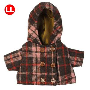 Bear Wear ベアウェア コート ブラウンチェック LL|dearbear