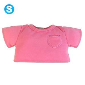 Bear Wear ベアウェア カラーTシャツ ピンク S dearbear